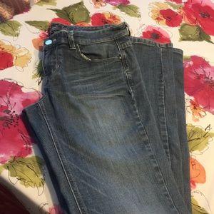 WHBM straight legged jeans